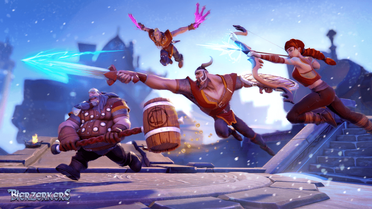 Bierzerkers launches today on Early Access news header