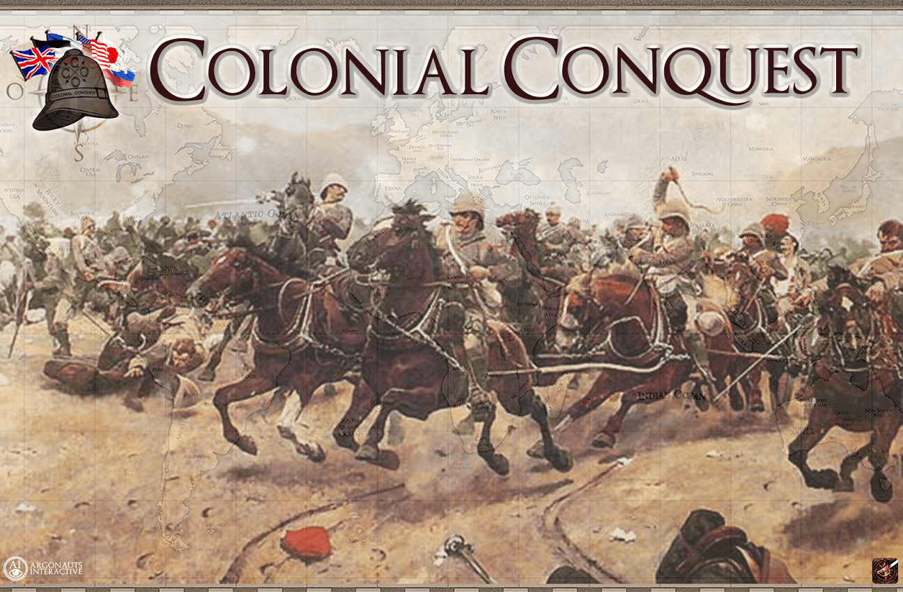 Crowdfunded Reboot to Colonial Conquest Invades Steam news header