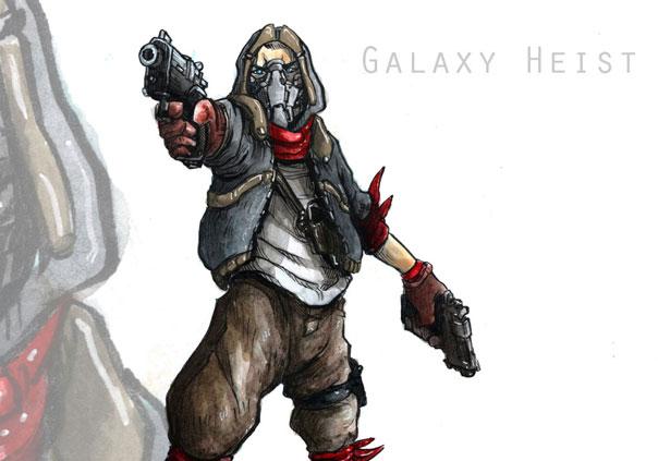 Galaxyheist Game Banner