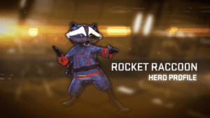 Marvel Heroes 2015 - Rocket Raccoon Hero Profile video thumbnail