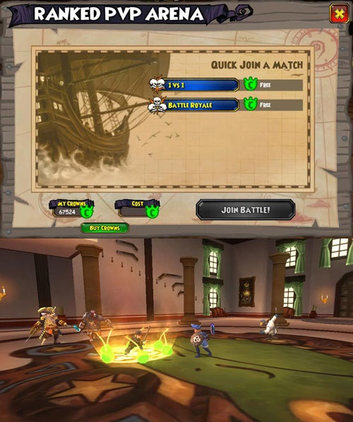 Pirate101 Prepares Ranked PvP on New Test Realm news header