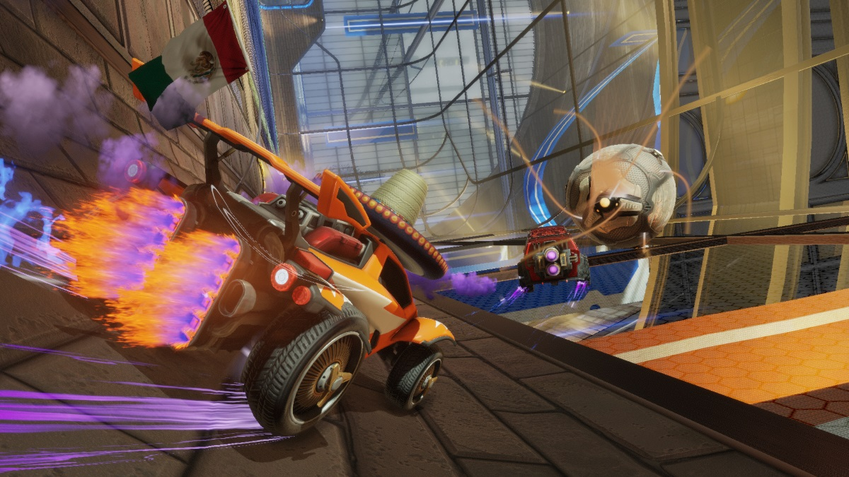 Rocket League Available Today on PS4 and PC news header