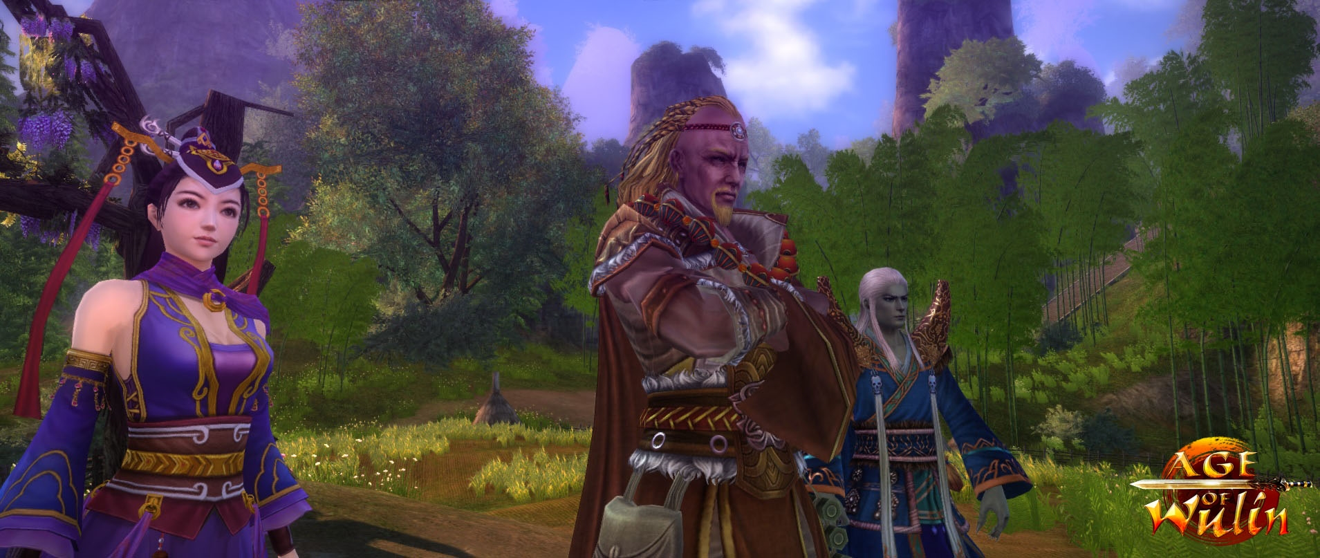 """Age of Wulin """"Chapter 7: Awakening"""" Now Available news header"""
