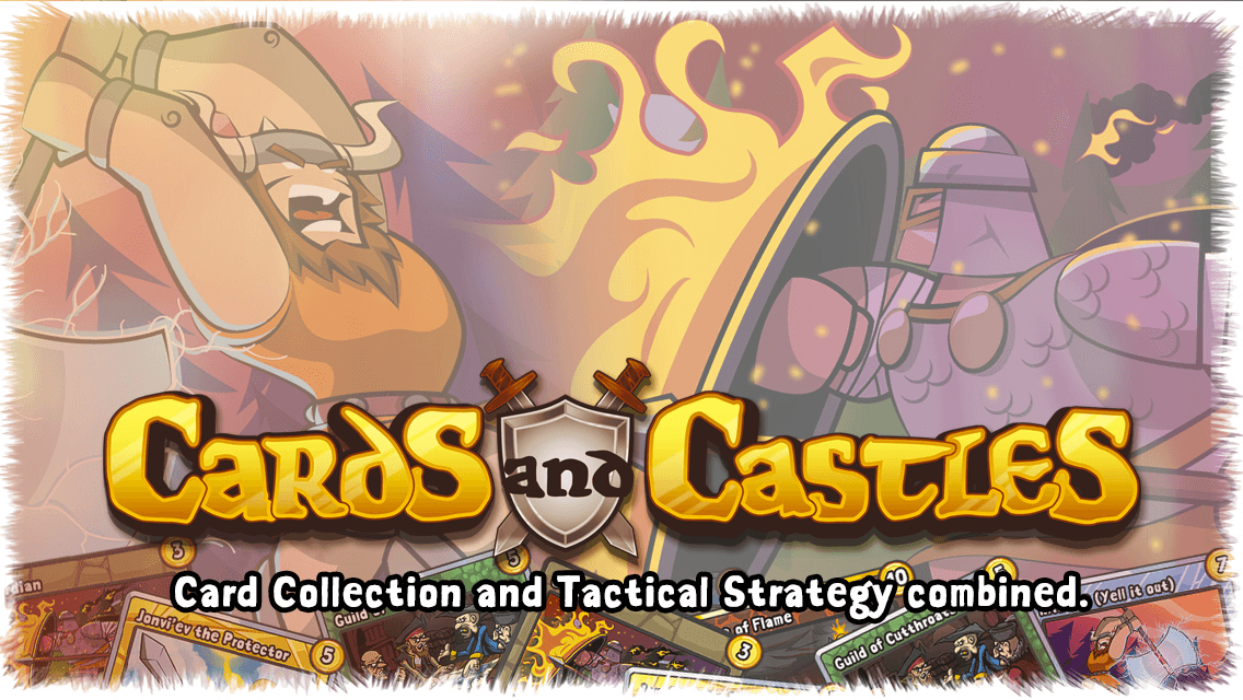 Cards and Castles 2.0 Slated for August 13 Release news header