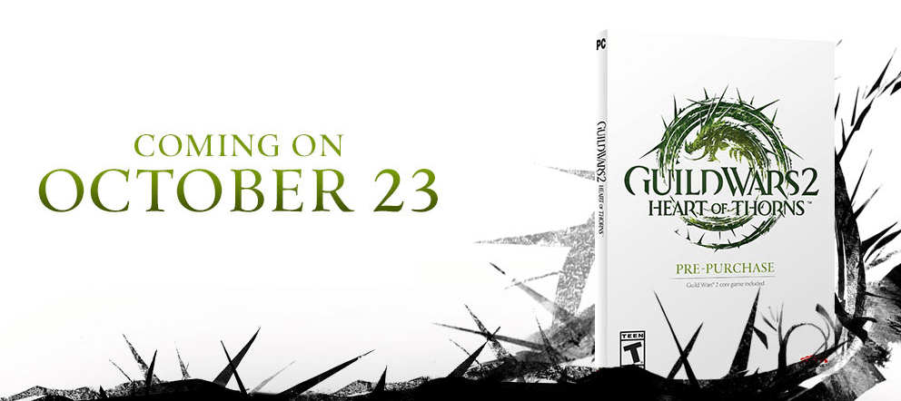Guild Wars 2 Surprises Fan with Heart of Thorns Release Date news header