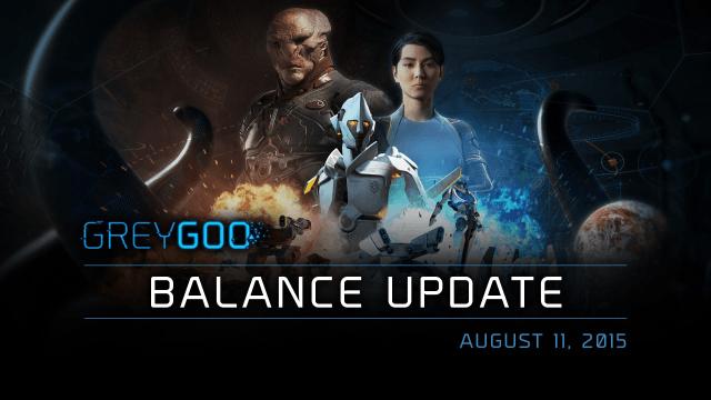 Grey Goo Balance Update - August 11, 2015 video thumb
