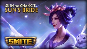 SMITE: Sun's Bride Chang'e Skin video thumb