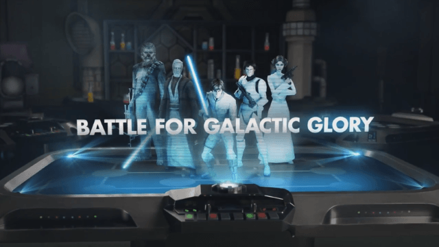 Star Wars: Galaxy of Heroes Announcement Trailer thumbnail