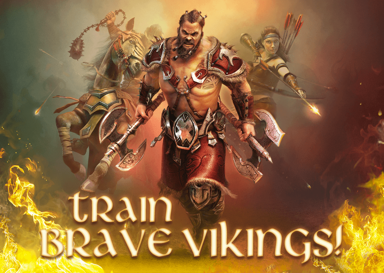 Vikings: War of Clans Thrashes Its Way to Android and iOS news header