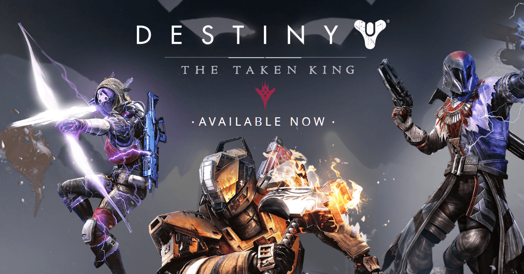 Destiny: The Taken King Available Today news header