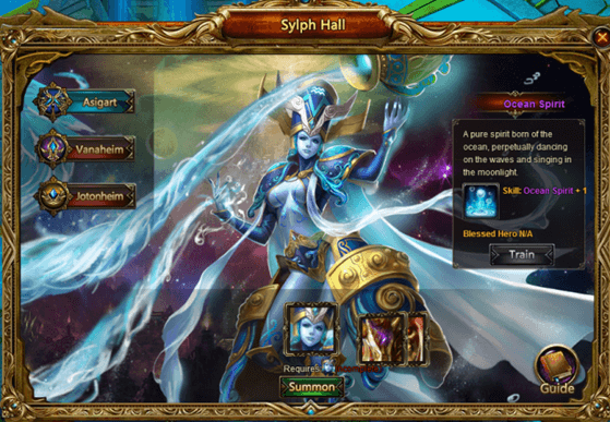 League of Angels Introduces Alliance Expedition and Sylph Hall news header