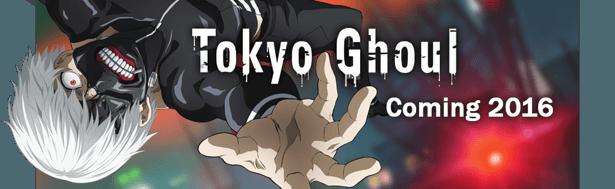 "GameSamba and FUNimation to make ""Tokyo Ghoul"" mobile game news header"
