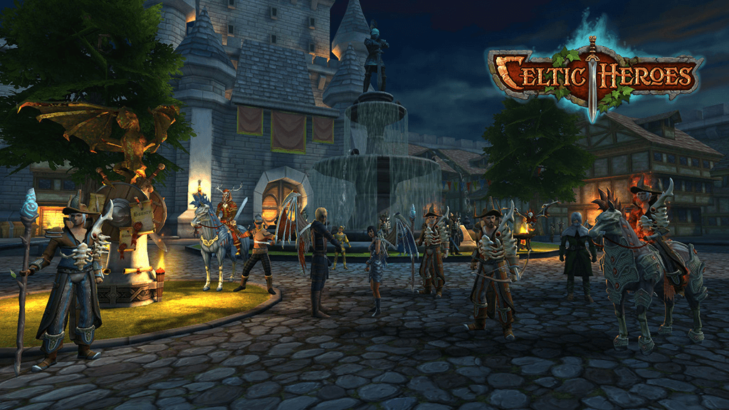 Celtic Heroes unleashes Halloween update and new expansion news header