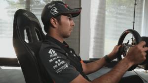 F1 2015 - Sergio Perez Mexico Hot Lap video thumbnail