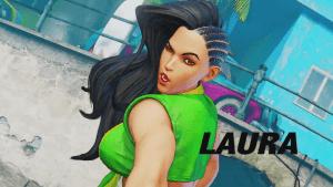 Street Fighter V Laura Reveal video thumbnail