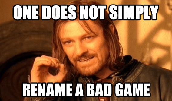 rename a game