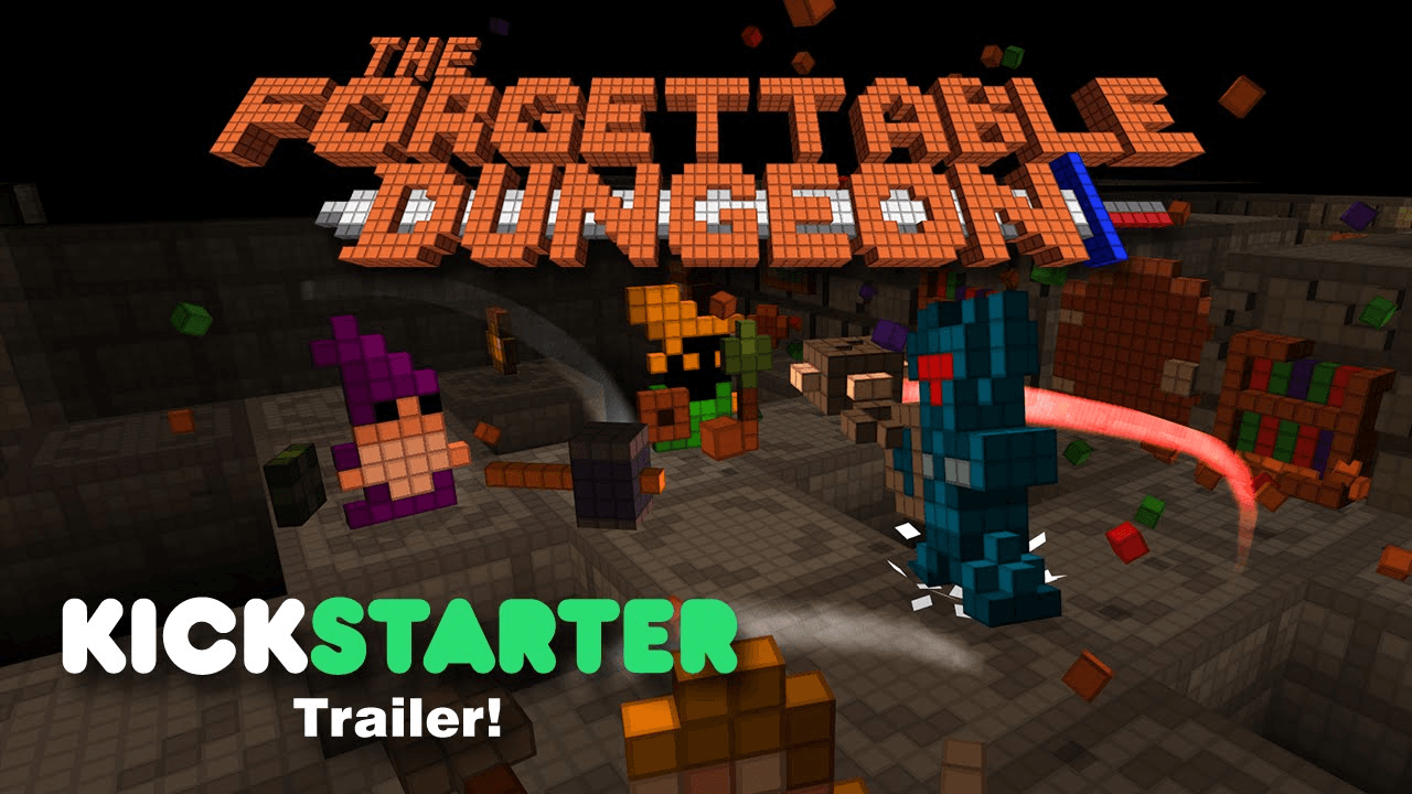 The Forgettable Dungeon Kickstarter Trailer thumbnail