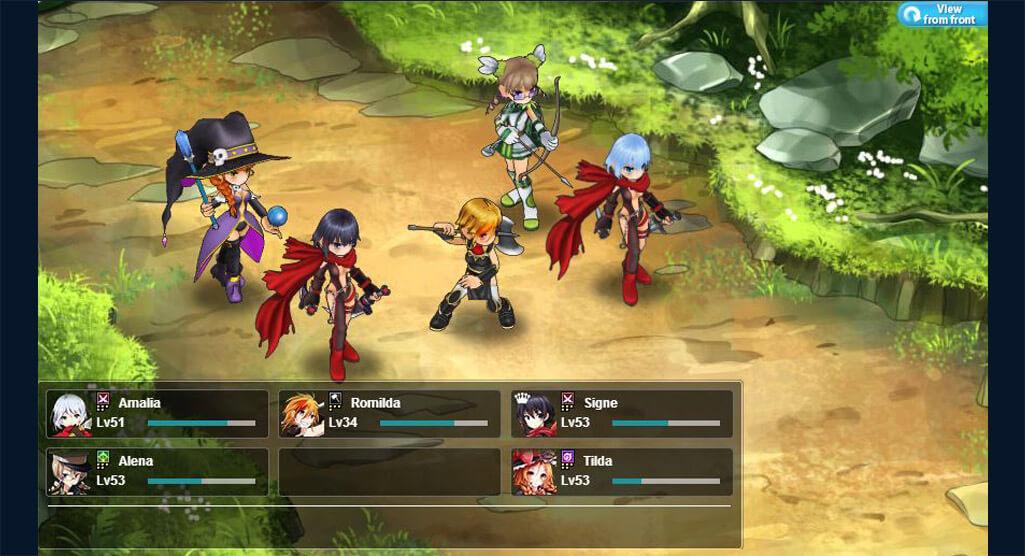 Kanpani Girls Screenshot