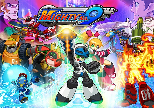 Mighty No. 9 Game Profile Banner