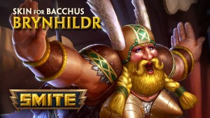 Smite Brynhildr Bacchus Skin video thumbnail