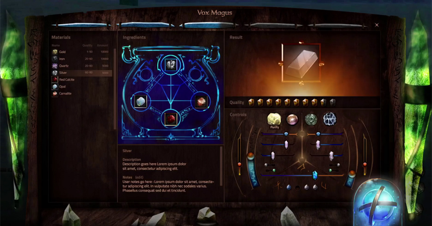 Camelot Unchained Crafting System Revealed