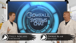 Crowfall Systems Chat I: Intro to Systems Design video thumbnail