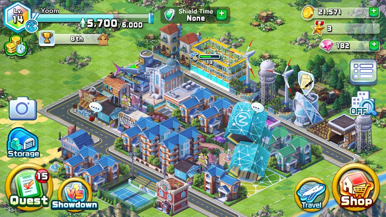 DowntownShowdown_screenshot_city