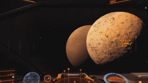 Elite Dangerous: Horizons Planetary Landing Gameplay video thumbnail