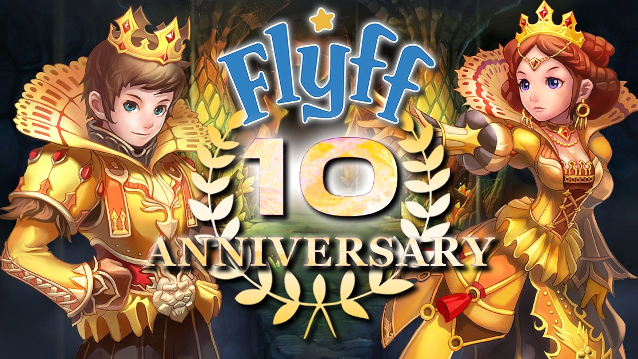 Flyff Celebrates 10th Anniversary with Skip Level Event news header
