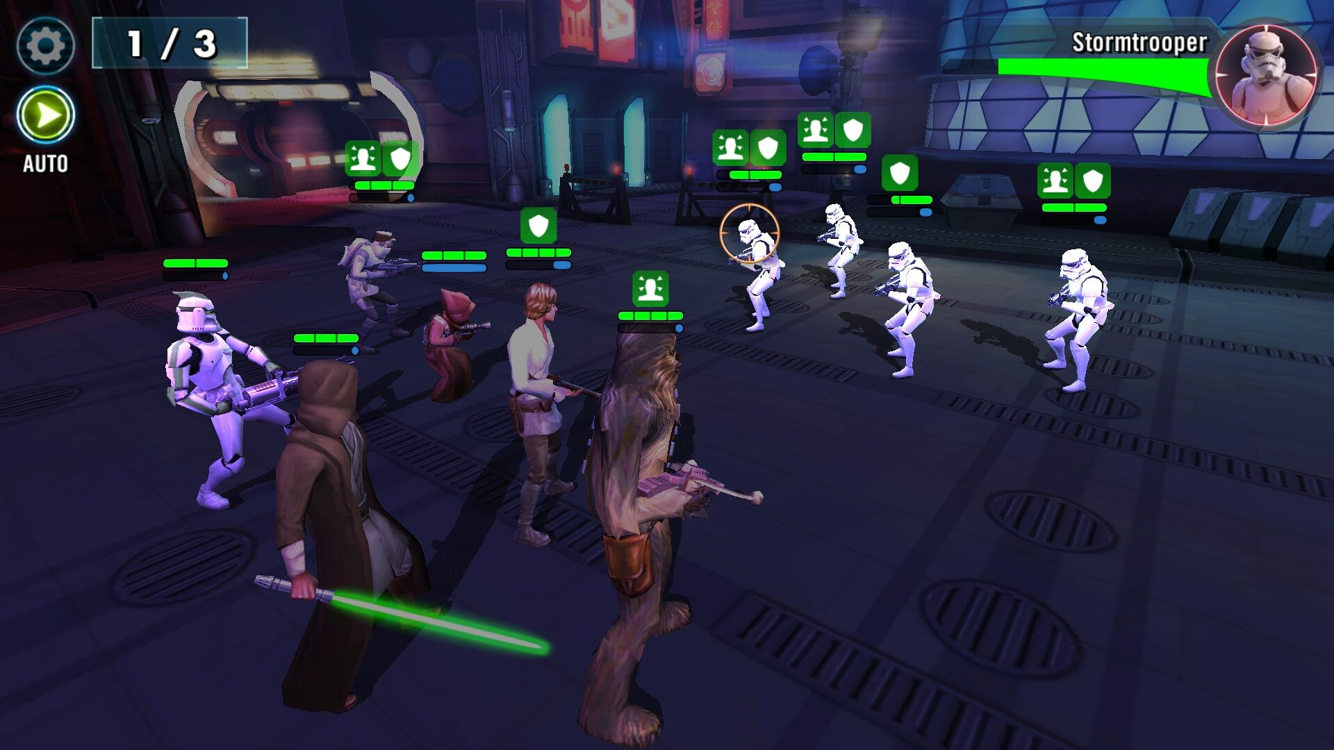 Star Wars: Galaxy of Heroes Game Review