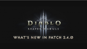 Diablo III Patch 2.4.0 Overview video thumbnail