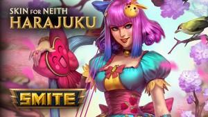 Smite Harajuku Neith Skin Preview video thumbnail