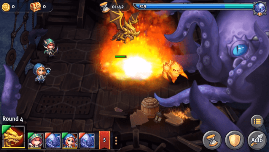 Heroes Tactics Boss Endurance Mode Now Available header