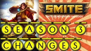 Smite Season 3 Changes