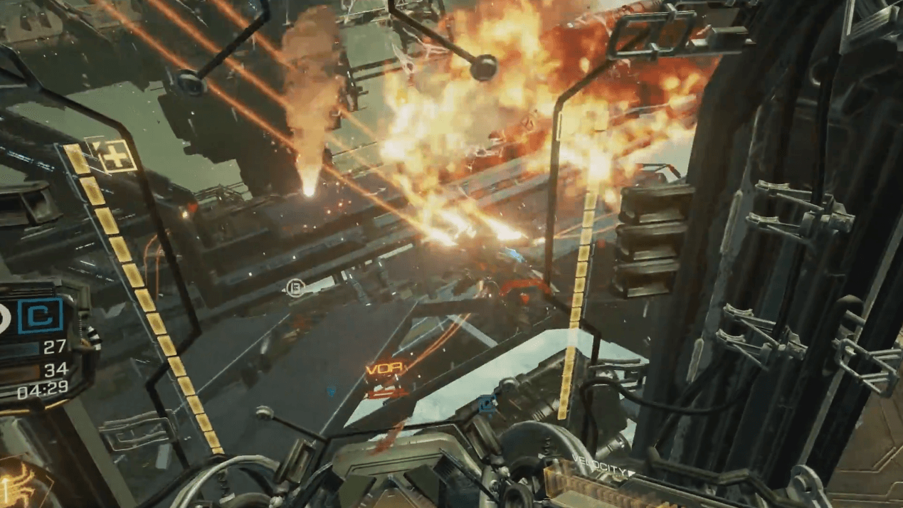 Eve: Valkyrie Alpha VR Gameplay thumbnail