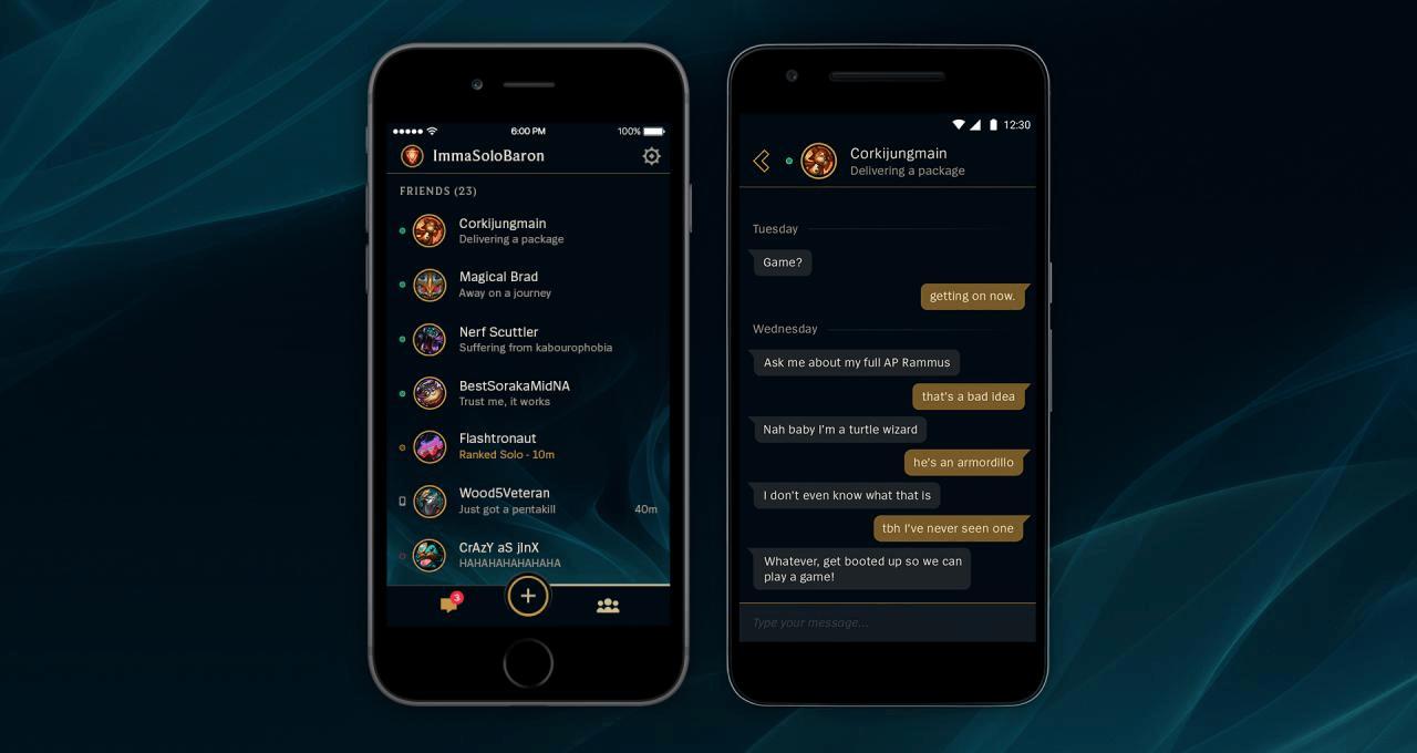 League Friends Mobile App Launches header