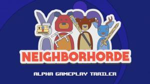 Neighborhorde Gameplay Trailer