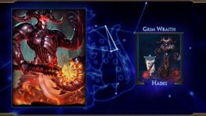 SMITE Hades Grim Wraith Skin