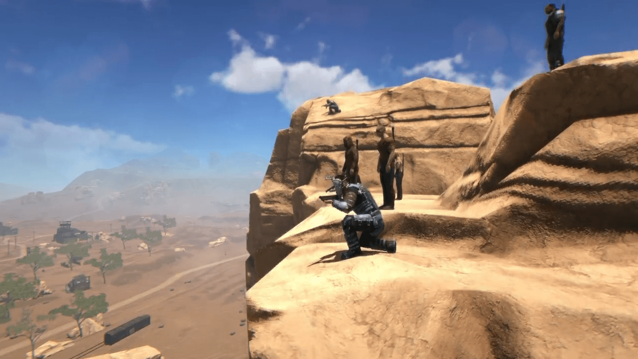 The Skies Early Alpha Gameplay