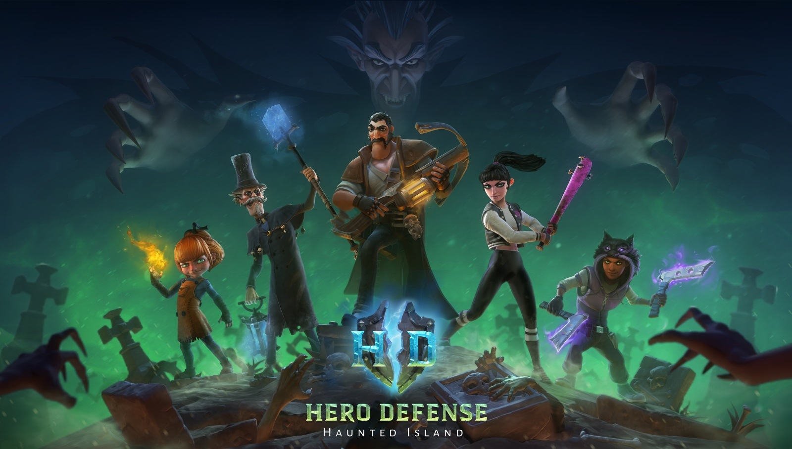 Hero Defense - Haunted Island Officially Launches on Steam