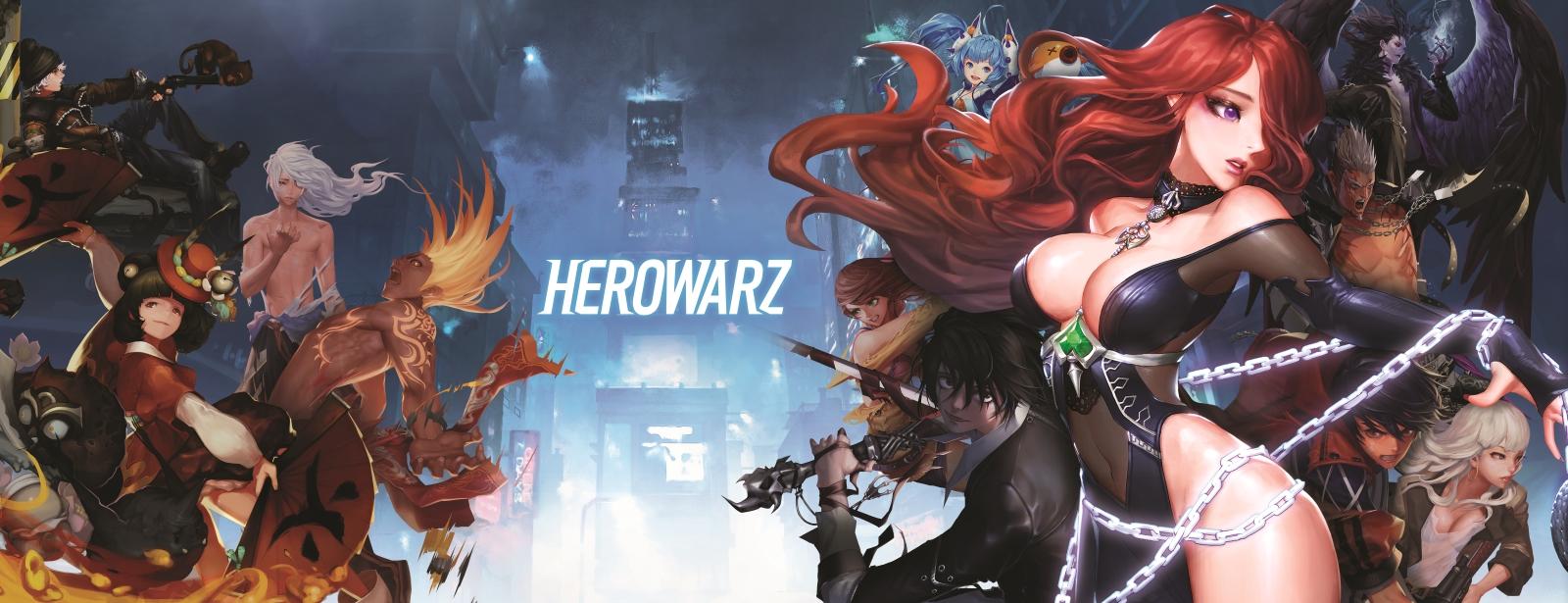 HeroWarz Closed Beta Now Live