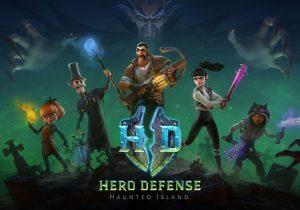 Hero Defense - Haunted Island Game Profile Banner