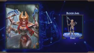 SMITE Blood Jarl & Valkalli Kali Skins
