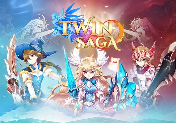 Twin Saga Game Banner
