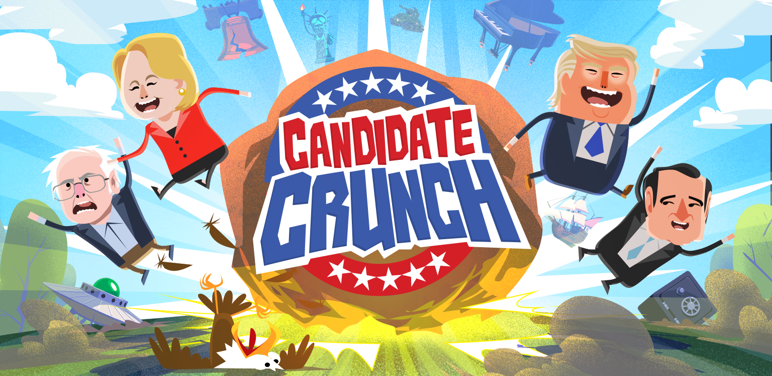 Candidate Crunch Launches to Boost Voter Engagement with a Fun Twist
