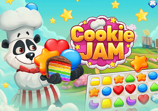 Cookie Jam Game Profile Banner