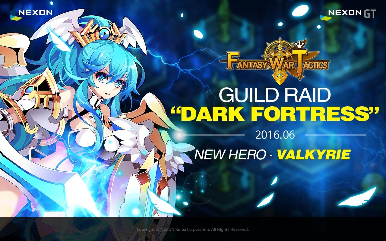 Fantasy War Tactics Releases Guild Raid Update