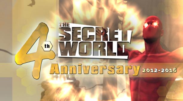 The Secret World 4th Anniversary Celebrations Begin