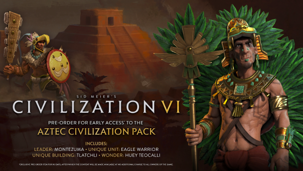 Civilization VI Pre-Order Bonus Revealed