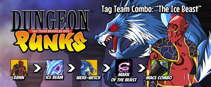 Dungeon Punks Reveals Combo System